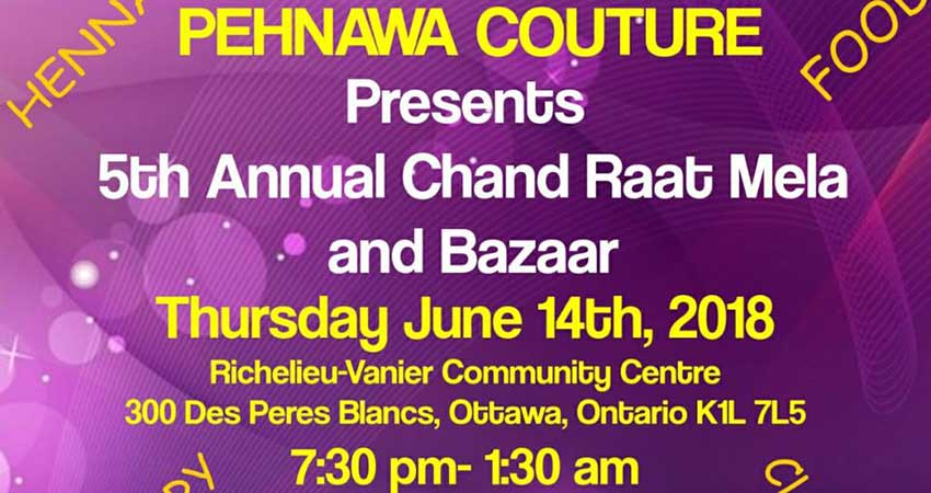 Pehnawa Couture Annual Chand Raat Mela And Bazaar