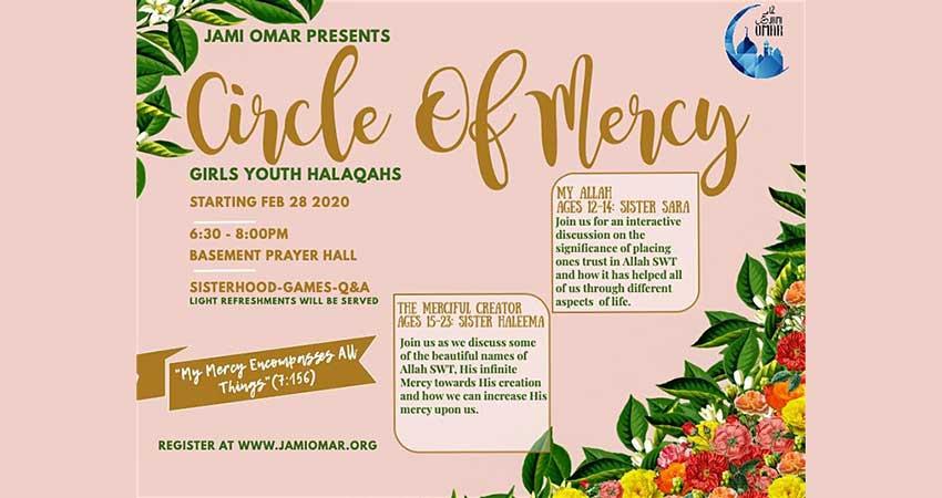 Jami Omar Circle of Mercy Girls Youth Halaqa