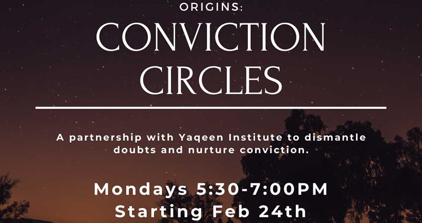 McMaster MSA Yaqeen Institute Conviction Circle