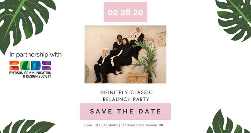 Infinitely Classic Relaunch Event
