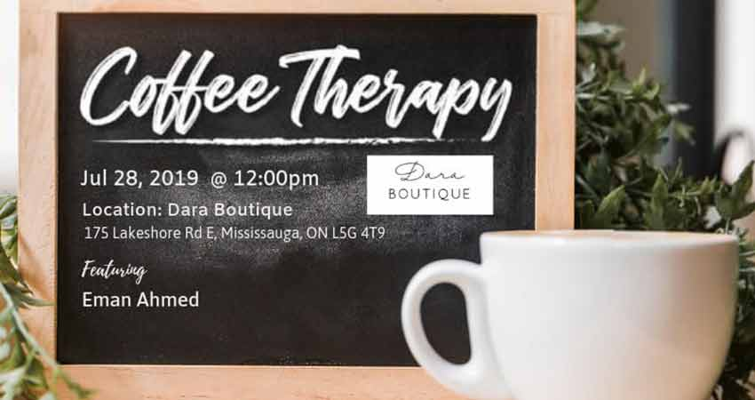 Being ME - Muslimah Empowered Toronto Coffee Therapy - Let's Chat Safety of Children
