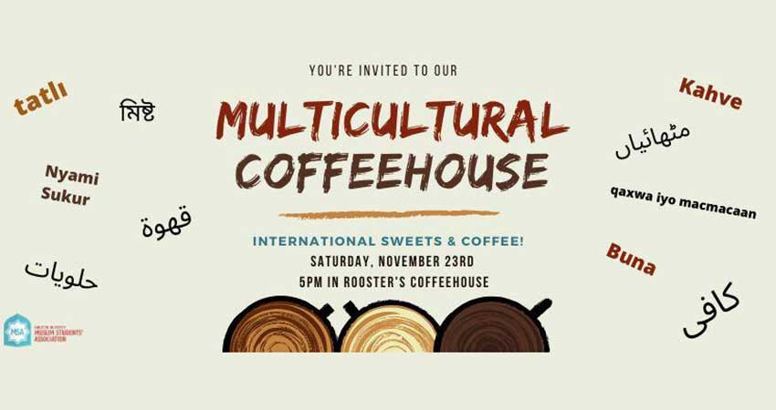 Carleton University Muslim Students Association (CUMSA) Multicultural Coffeehouse