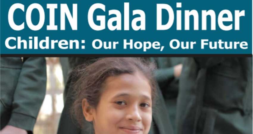 Children of Islamic Nations COIN Annual Fundraising Dinner