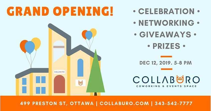 Collabüro Grand Opening Celebration