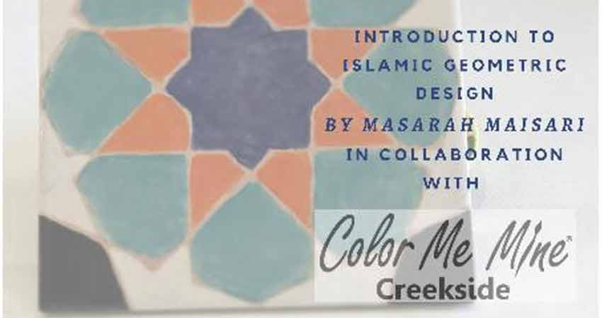 Introduction to Islamic Geometric Design with Masarah Maisari