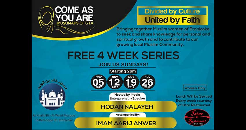 Come As You Are: Muslimahs of GTA with Hodan Nayaleh