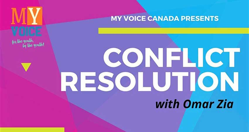 Youth Conflict Resolution Workshop with Omar Zia (Registration Deadline Feb 27)