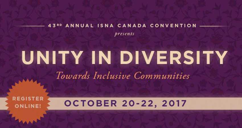ISNA Canada Convention - Unity in Diversity