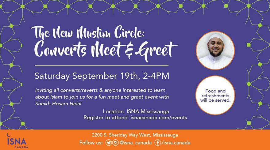 ISNA Canada The New Muslim Circle: Converts Meet and Greet