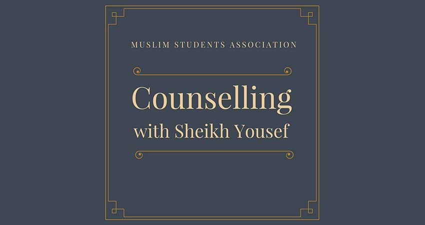 UWindsor MSA Counselling with Imam Yousef Wahb