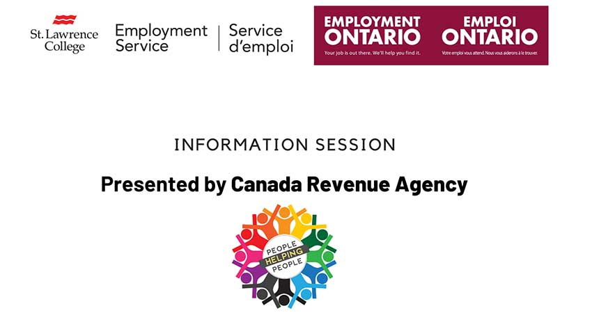 Canada Revenue Agency Benefits and Tax Credits Info Session