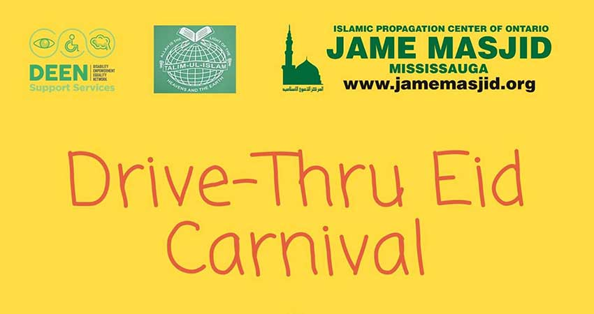 DEEN Support Services Eid Drive Thru Carnival