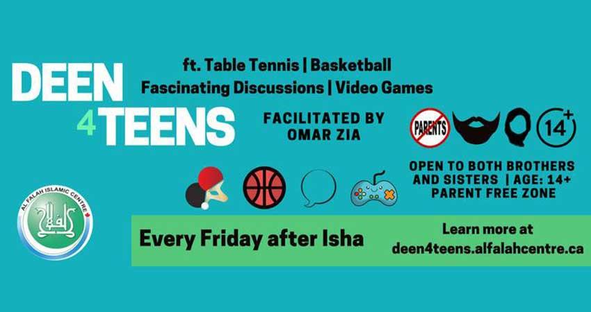 Deen4Teens with Omar Zia