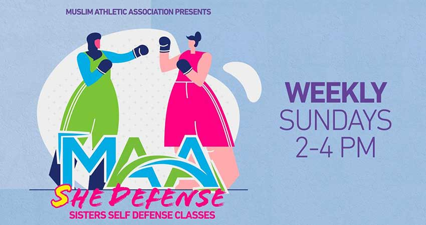 Muslim Athletic Association Sisters' Self Defense Classes