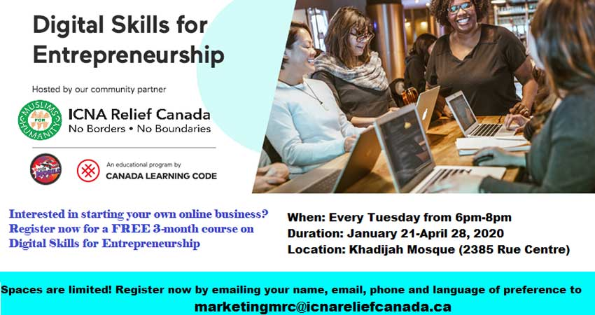 Digital Skills for Entrepreneurship Free Course Registration