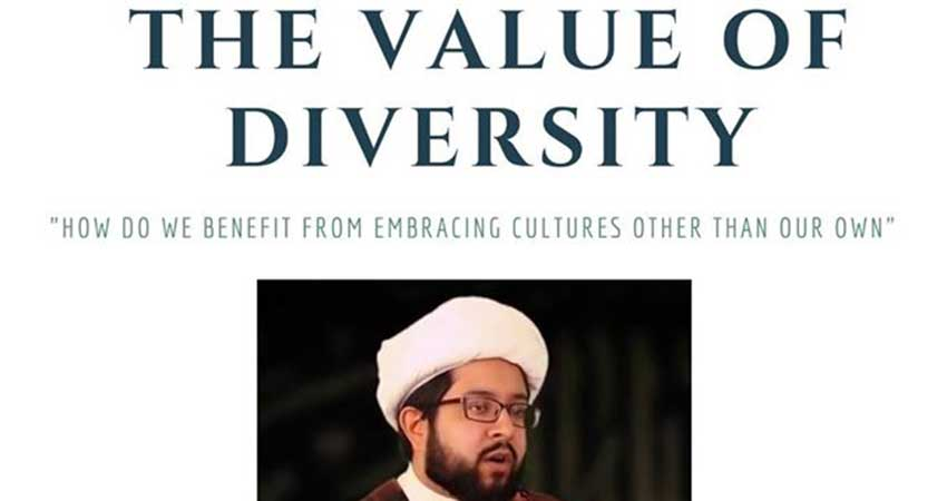Ark Centre of Excellence The Value of Diversity with Sheikh Vinay Khetia