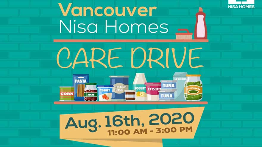 Nisa Homes Vancouver Care Drive (Cleaning Supplies, Household Essentials, Food)