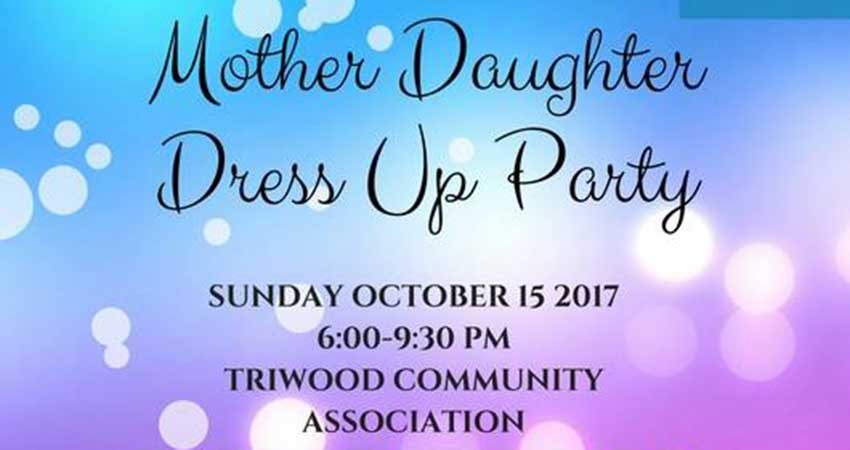 Mother Daughter Dress Up Party