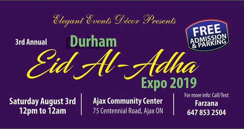 Durham Eid al Adha Expo