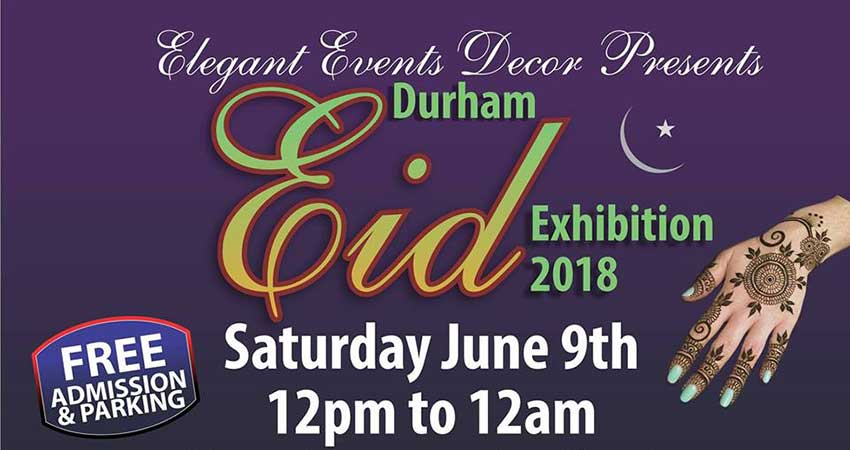 Durham Eid Exhibition 2018
