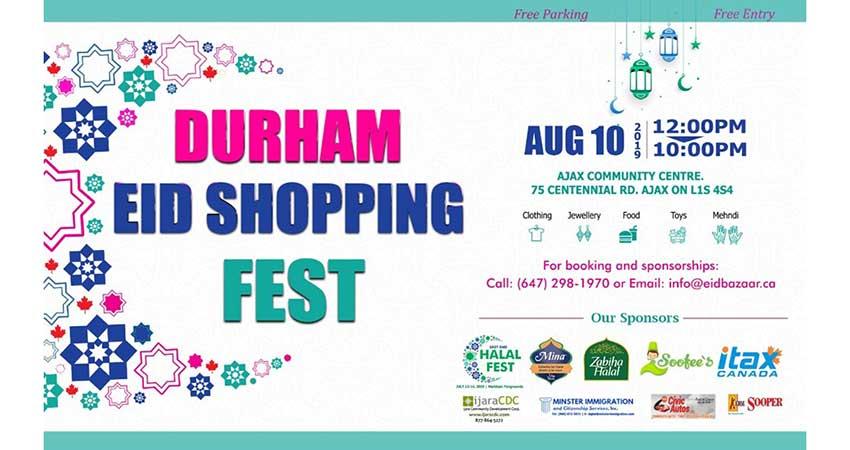 Durham Eid Shopping Fest