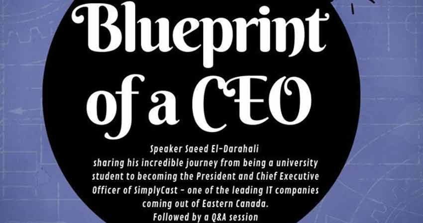 East Coast Muslims presents Blueprint of a CEO with Saeed El-Darahali