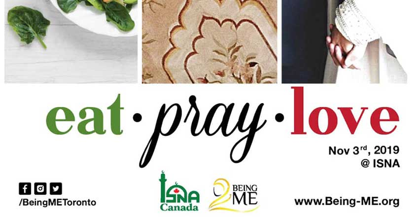 Being ME Muslimah Empowered Eat, Pray, Love