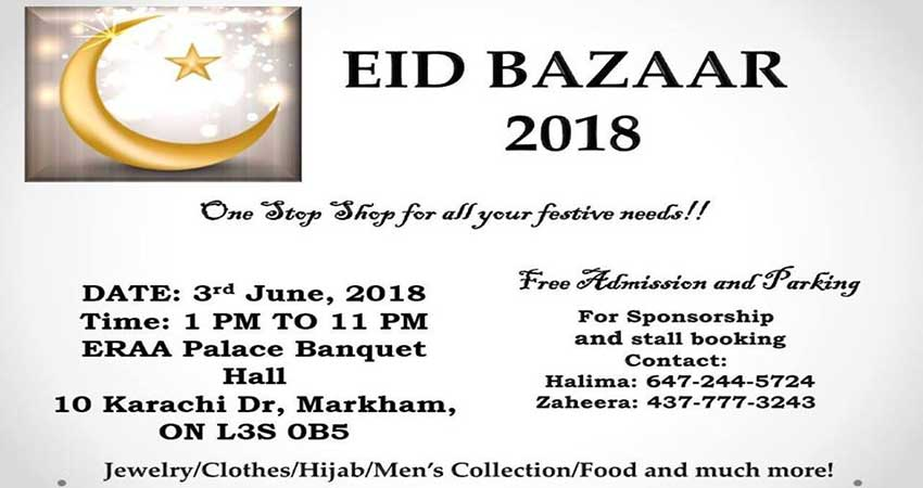 Eid Bazaar Markham