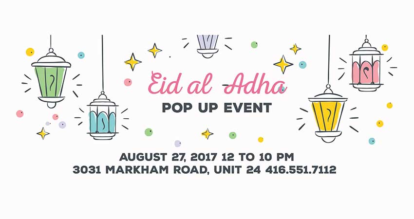 Eid Pop Up Shop
