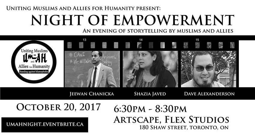 Uniting Muslims & Allies for Humanity Night of Empowerment