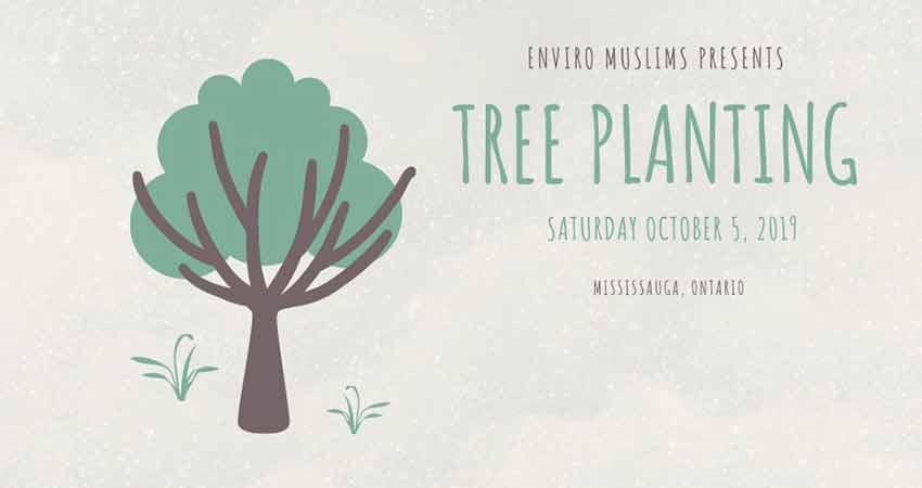Enviro Muslims Fall Tree Planting Event