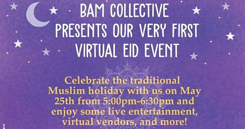 ONLINE Books Arts Music Collective Virtual Eid Bazaar
