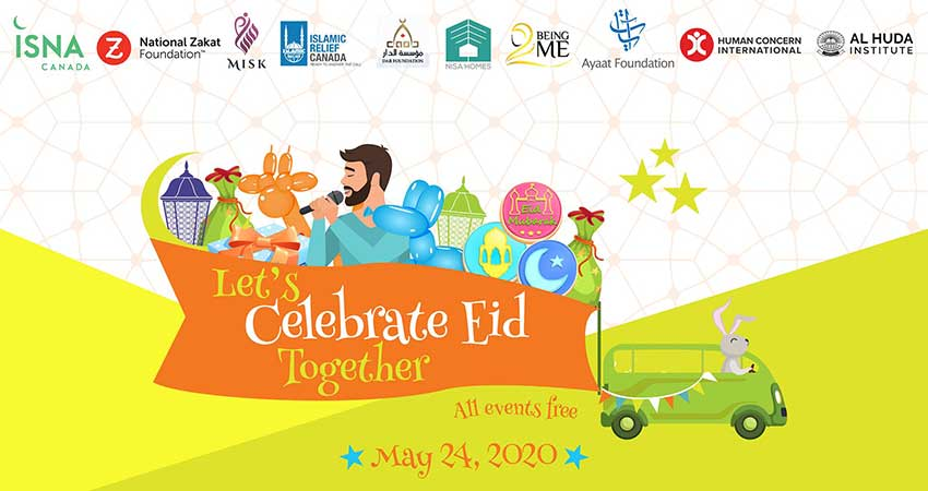 ONLINE ISNA Canada Let's Celebrate Eid Together