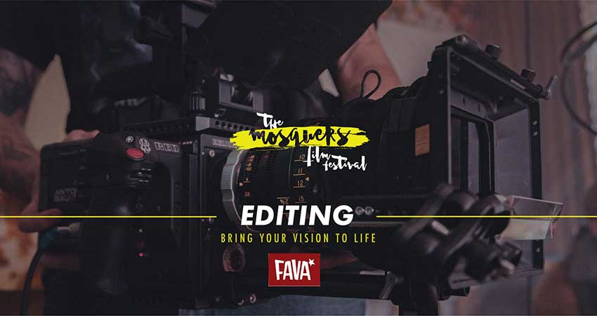 ONLINE Mosquers Film Festival Film Workshop on Editing