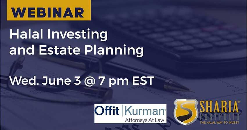 ONLINE ShariaPortfolio Halal Investing and Estate Planning