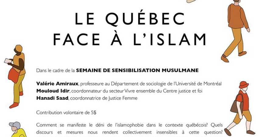 Le Québec face à l'islam