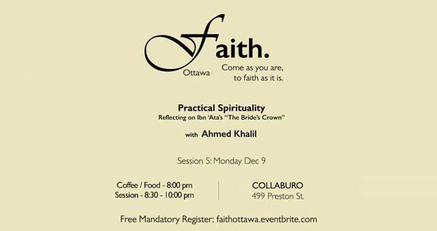 Faith Ottawa Muslim Practical Spirituality