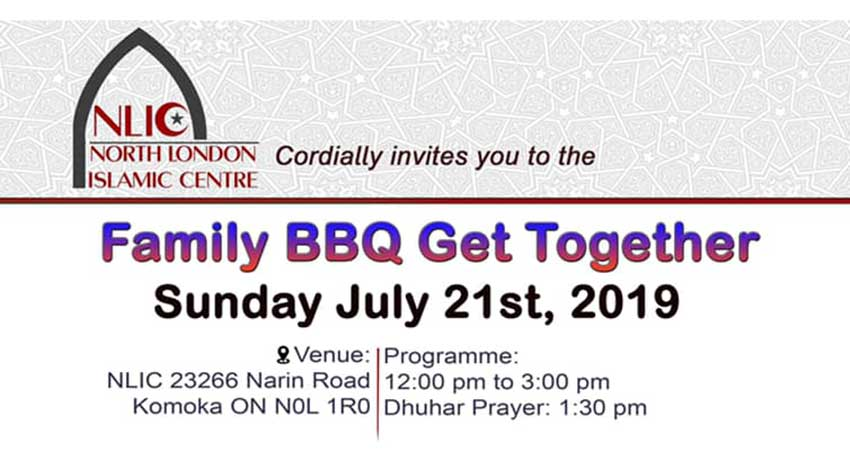 North London Islamic Centre BBQ Family Get Together