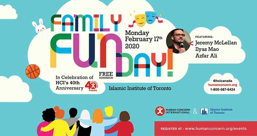 Human Concern International Family Fun Day at the Islamic Institute of Toronto