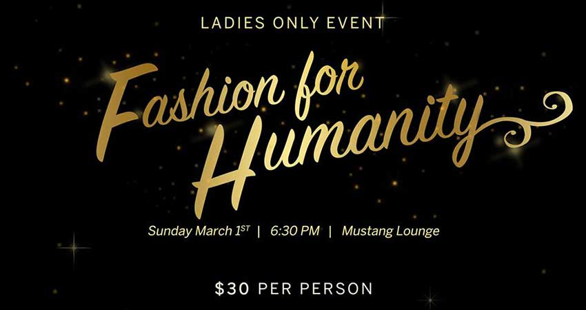 Western Muslim Students Association Fashion for Humanity Ladies Only