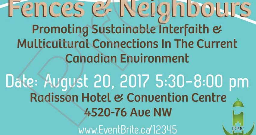 Fences and Neighbours: Promoting Sustainable Interfaith and Multicultural Connections in the Current Canadian Environment with Dr. Ingrid Mattson