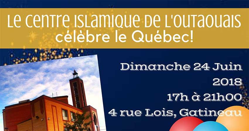 Centre Islamique de l'Outaouais Fête du Québec le 24 Juin