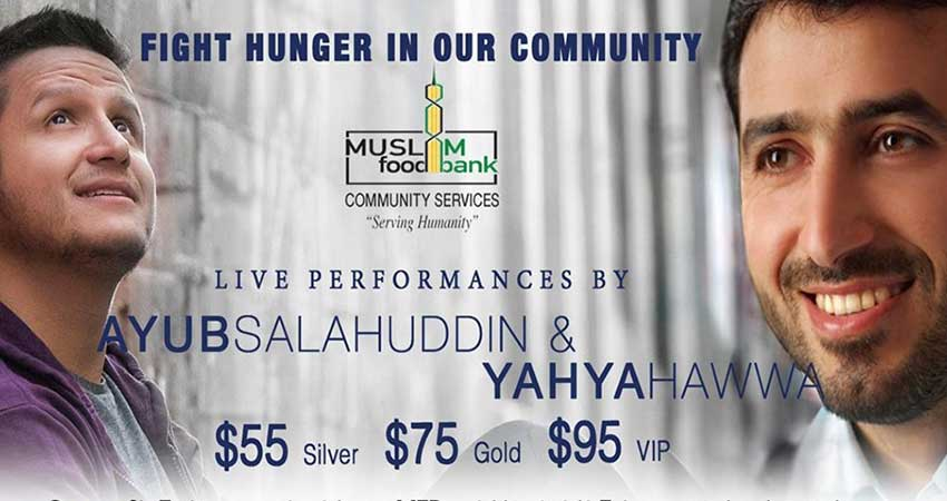 Muslim Food Bank and Community Services Fight Hunger Charity Concert