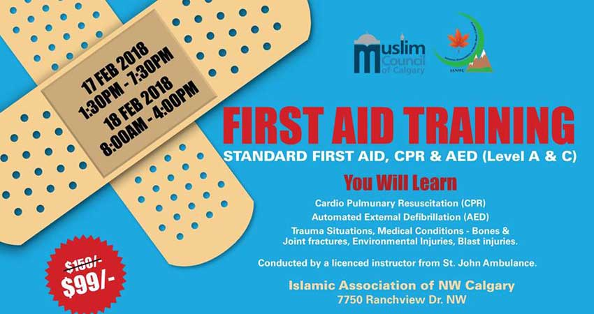 First-Aid Training (Level A & C)