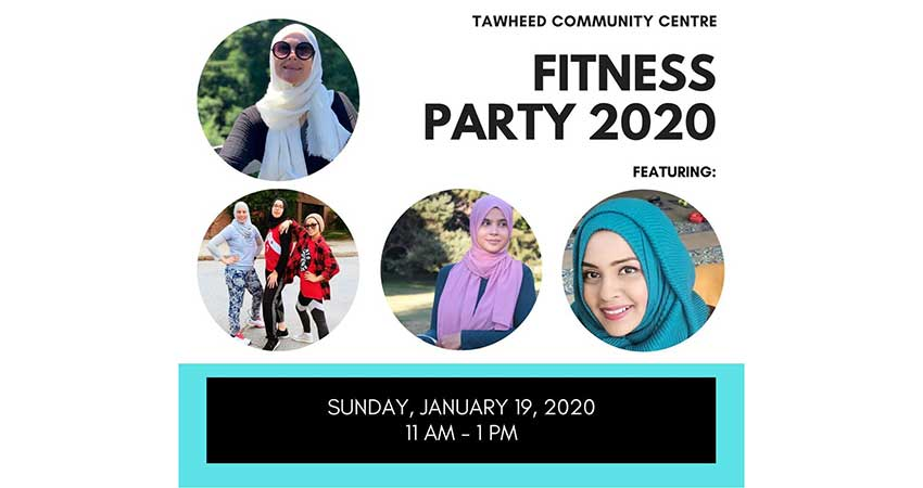 Tawheed Community Centre Sisters Fitness Party