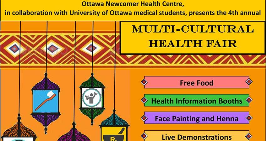 Ottawa Newcomer Health Centre Multicultural Health Fair