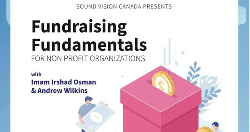 Sound Vision Canada Fundraising Fundamentals for Non-Profits