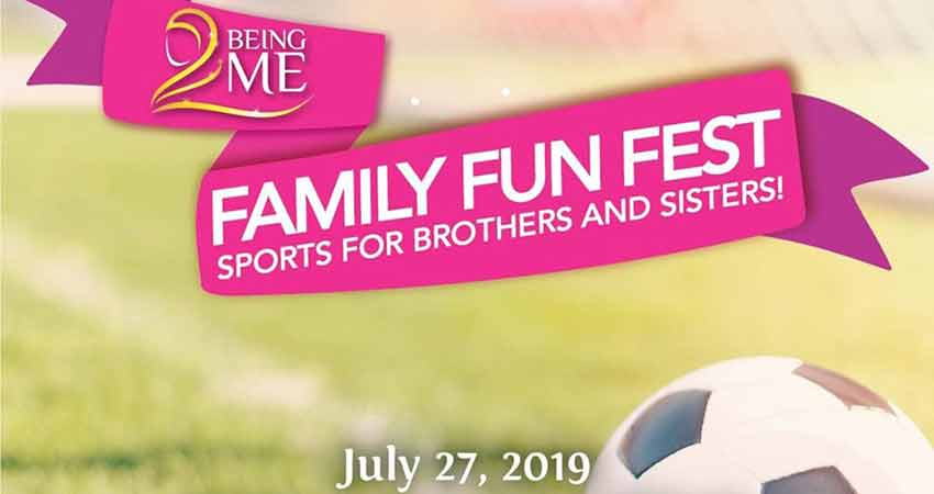 Being ME Family Funfest Sports for Brothers and Sisters