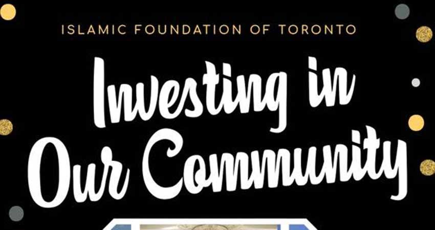 Islamic Foundation of Toronto Investing in Our Future Fundraiser with Imam Mustafa Khattab