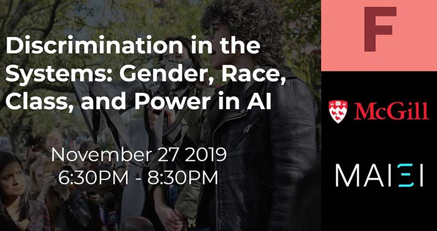 AI Ethics: Discrimination in the Systems Gender, Race, Class, and Power in AI